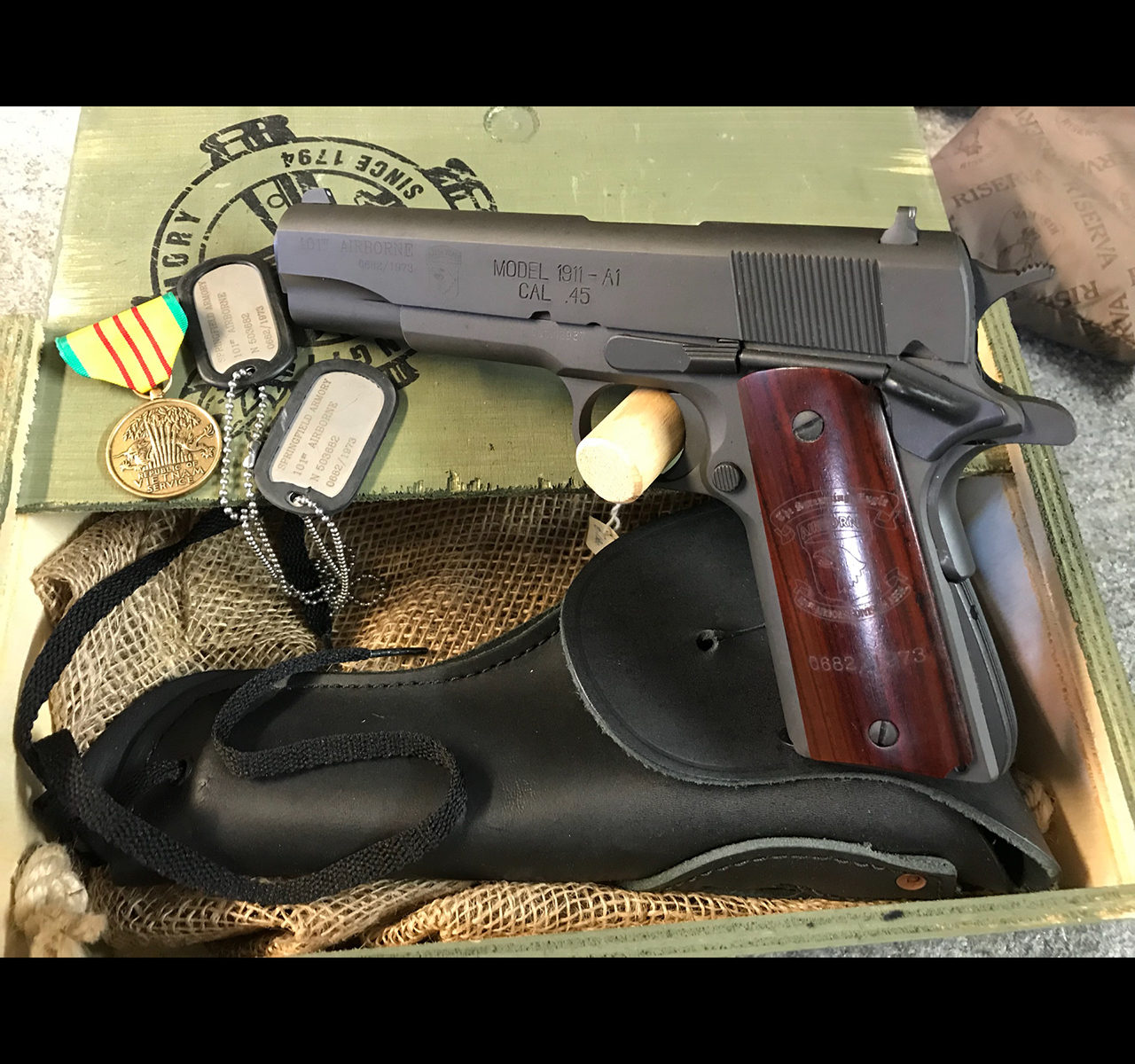 pistola springfield © armeriatower